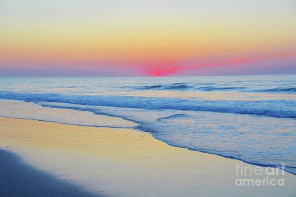Serenity Beach Sunrise Poster