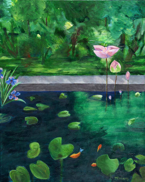Serenity Pond Poster