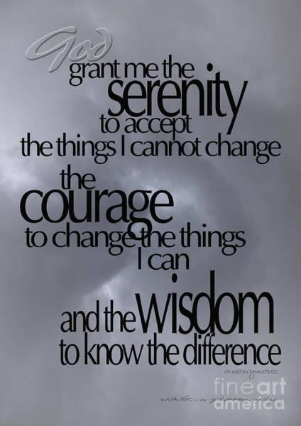Serenity Prayer 05 Poster