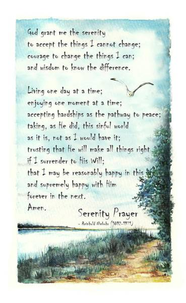 Serenity Prayer The Full Version Poster