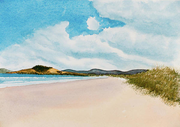 Seven Mile Beach On A Calm, Sunny Day Poster