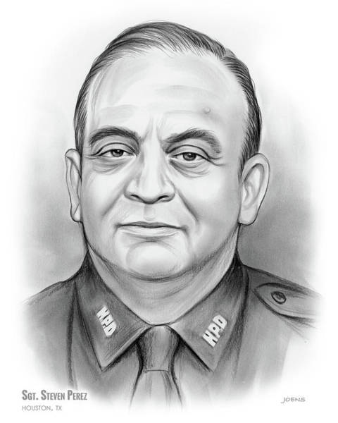 Sgt. Steven Perez Poster