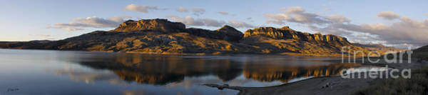 Sheep Mountain Sunrise - Panoramic-signed-12x55 Poster