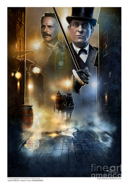 Sherlock Holmes - Jeremy Brett Poster