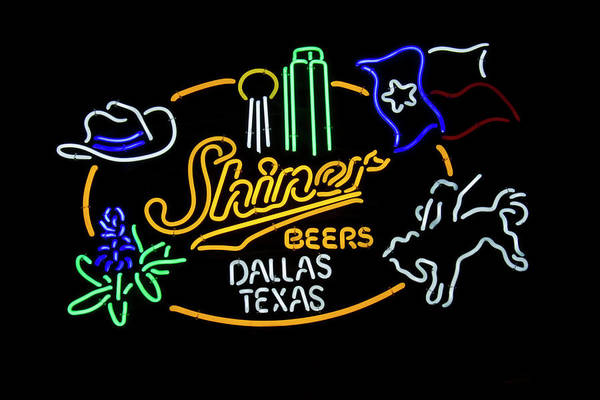 Shiner Beers Dallas Texas Poster
