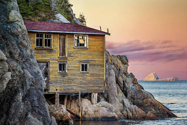 Shoe Cove Sunset Poster