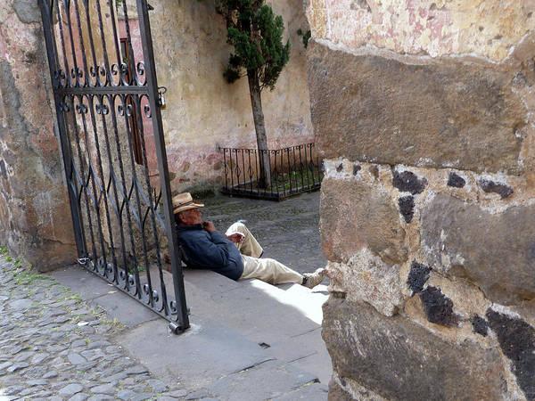 Siesta In Patzcuaro Poster