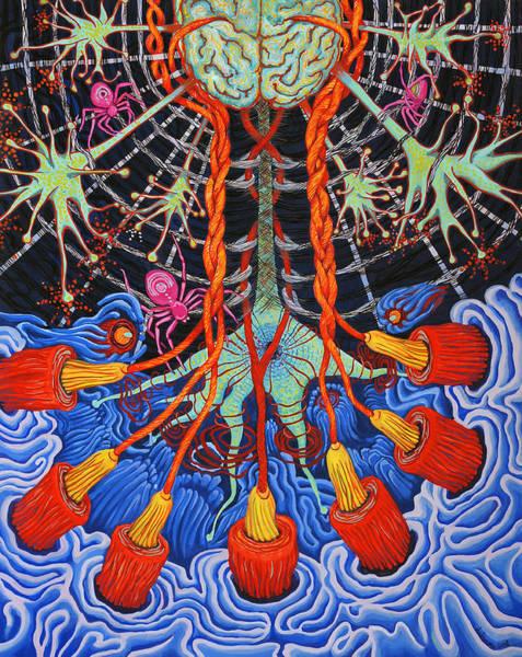 Silk Neural Network Poster