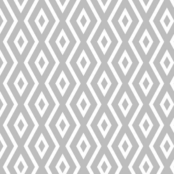 Silver Pattern Poster