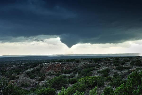 Silverton Texas Tornado Forms Poster