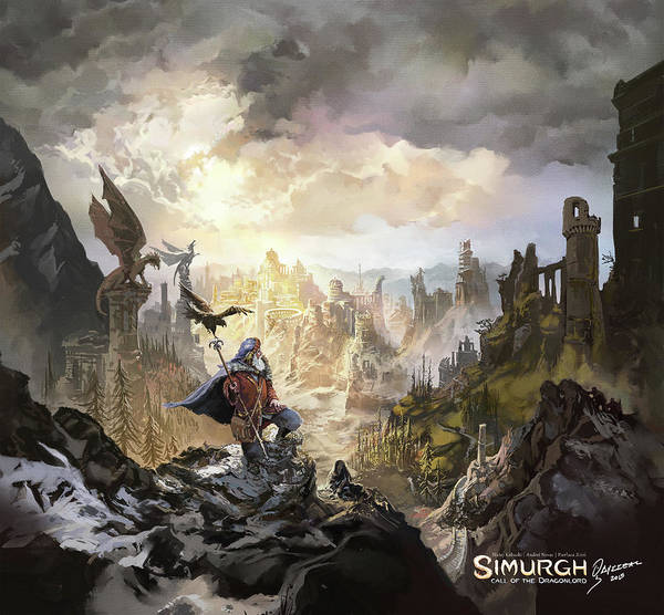 Simurgh Call Of The Dragonlord Poster