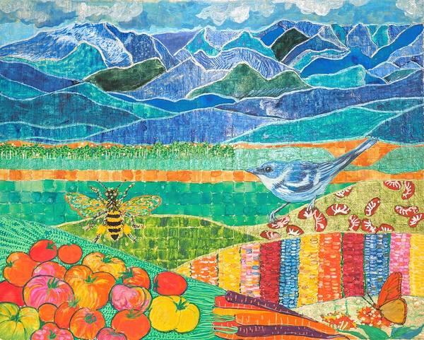 Sing The Organic Farm Poster