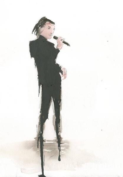 Singer Melting A Jazz Tune Poster