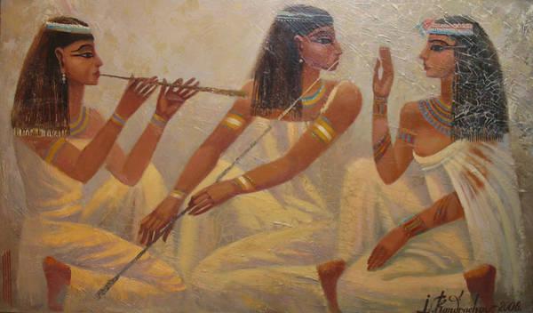 Singers Of Pharaoh Poster