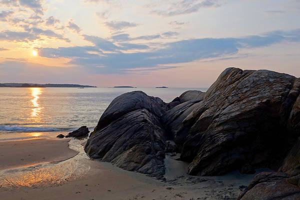Singing Beach Rocky Sunrise Manchester By The Sea Ma Poster