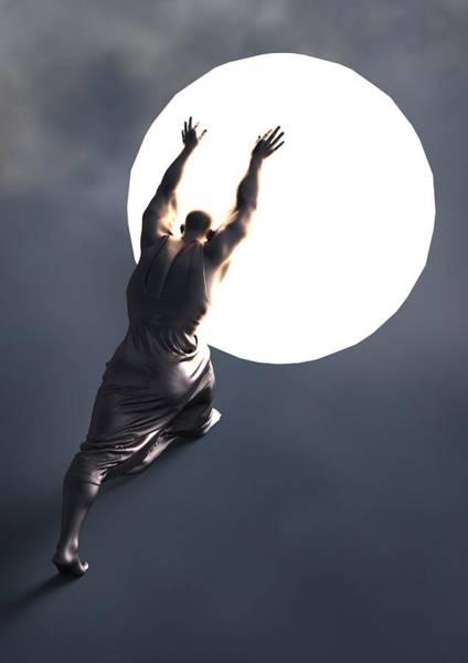Sisyphus Lamp 05 Poster