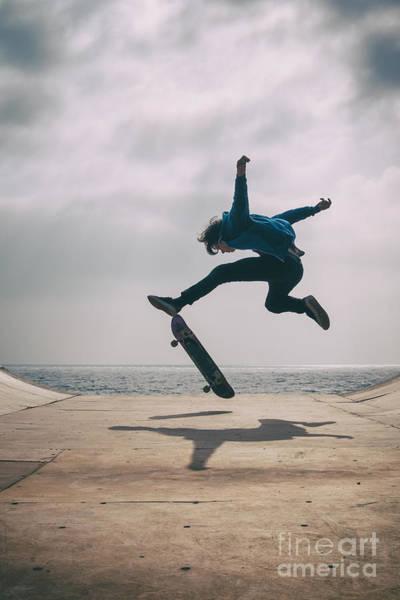 Skater Boy 003 Poster