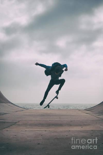Skater Boy 004 Poster