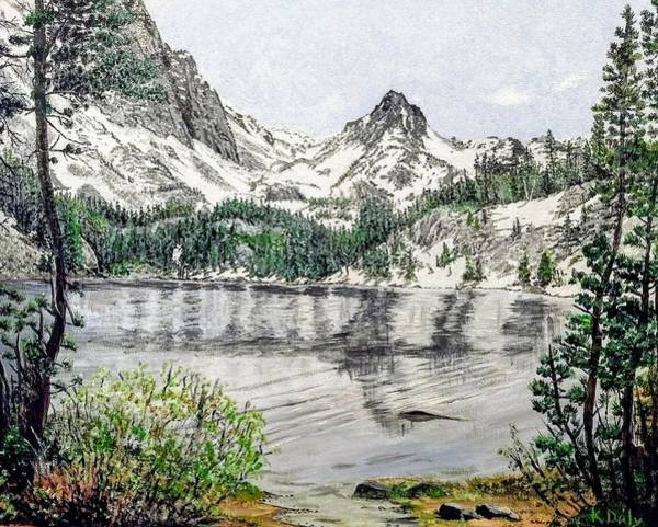 Poster featuring the painting Skelton Lake by Kevin Daly
