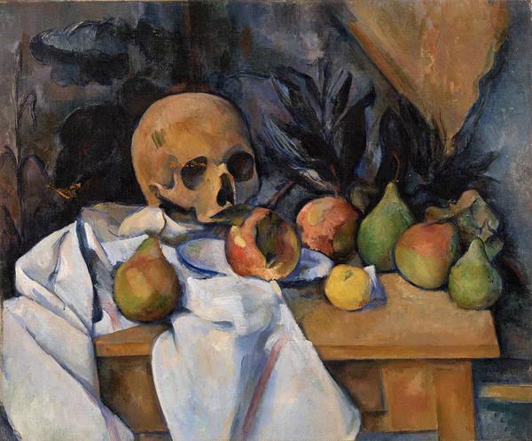 Still Life With Skull Poster
