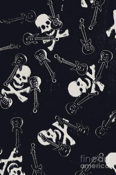 Skull Rockers Art Poster
