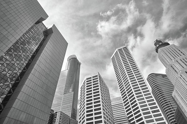 Skyline In Minneapolis, Minnesota Poster