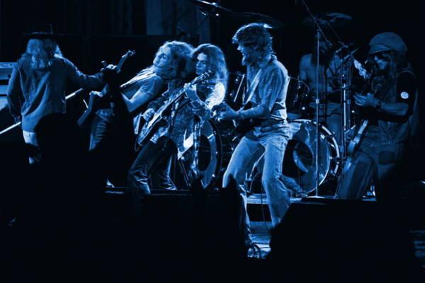 Blues In Spokane Poster