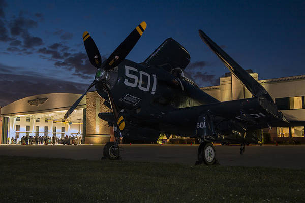 Skyraider Night Poster