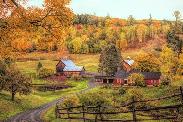 Sleepy Hollow - Pomfret Vermont In Autumn Poster