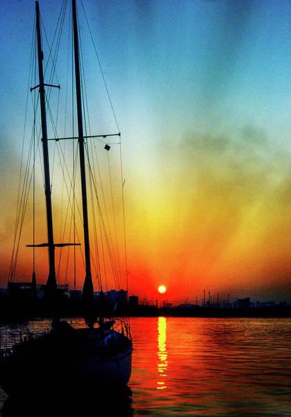 Slipper Island Sunset Poster