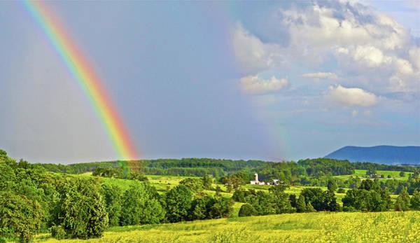 Smith Mountain Lake Rainbow Poster