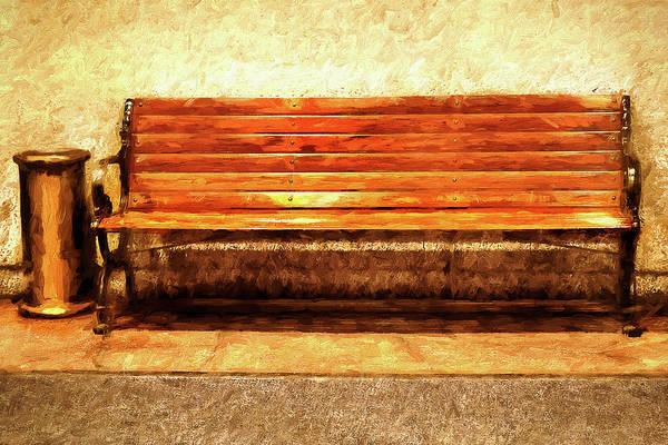 Smoker's Bench Poster
