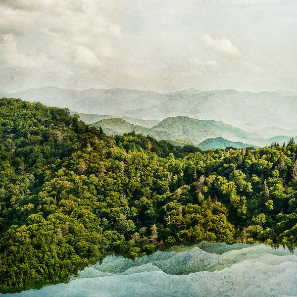 Smoky Mountain Reflections Poster