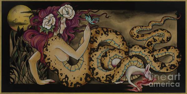 Snake Lady Poster