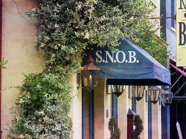 Snob Poster