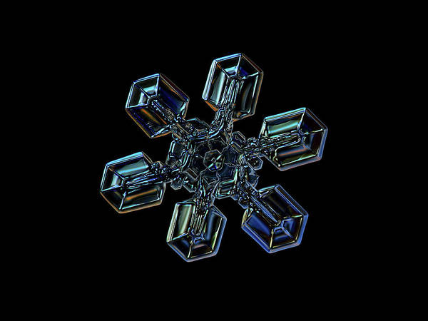 Snowflake Photo - High Voltage IIi Poster