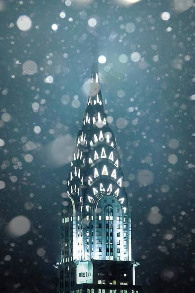 Snowy Spires Poster