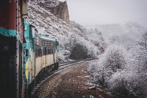 Snowy Verde Canyon Railroad Poster