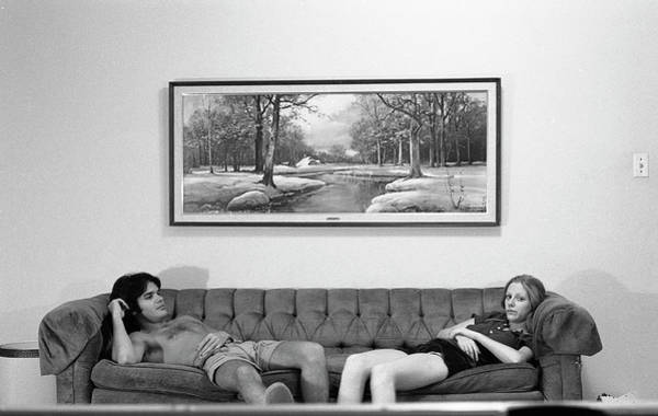 Sofa-sized Picture, With Light Switch, 1973 Poster