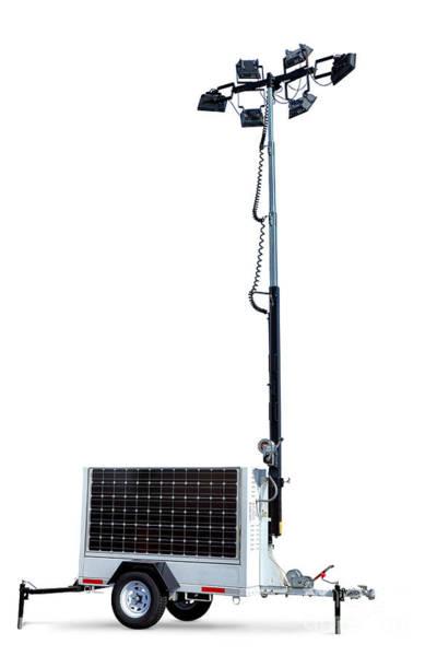 Solar Light Tower Poster