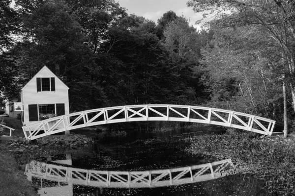 Somesville Bridge In Acadia National Park Poster