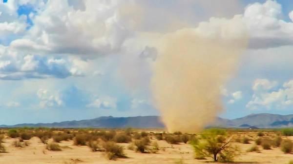 Sonoran Desert Dust Devil Poster