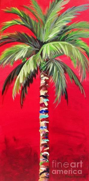 South Beach Palm II Poster