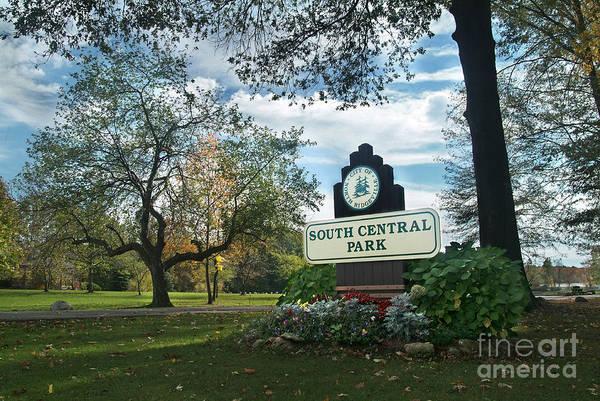 South Central Park - Autumn Poster