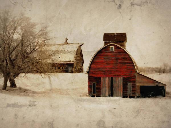 South Dakota Corn Crib Poster