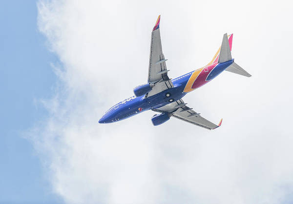 Southwest Airlines With A Heart Poster