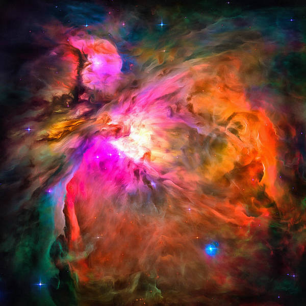 Space Image Orion Nebula Poster