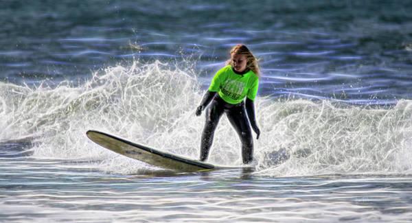 Sparkle Surf Poster