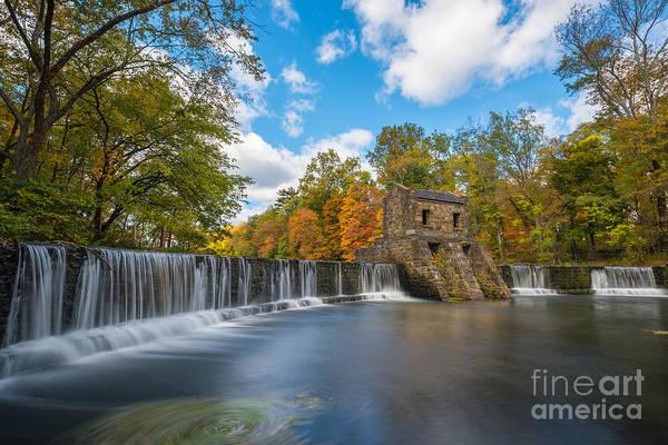 Speedwell Dam Fall Foliage Poster