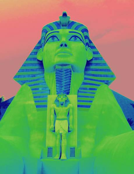 Sphinx At Luxor - 2 Poster